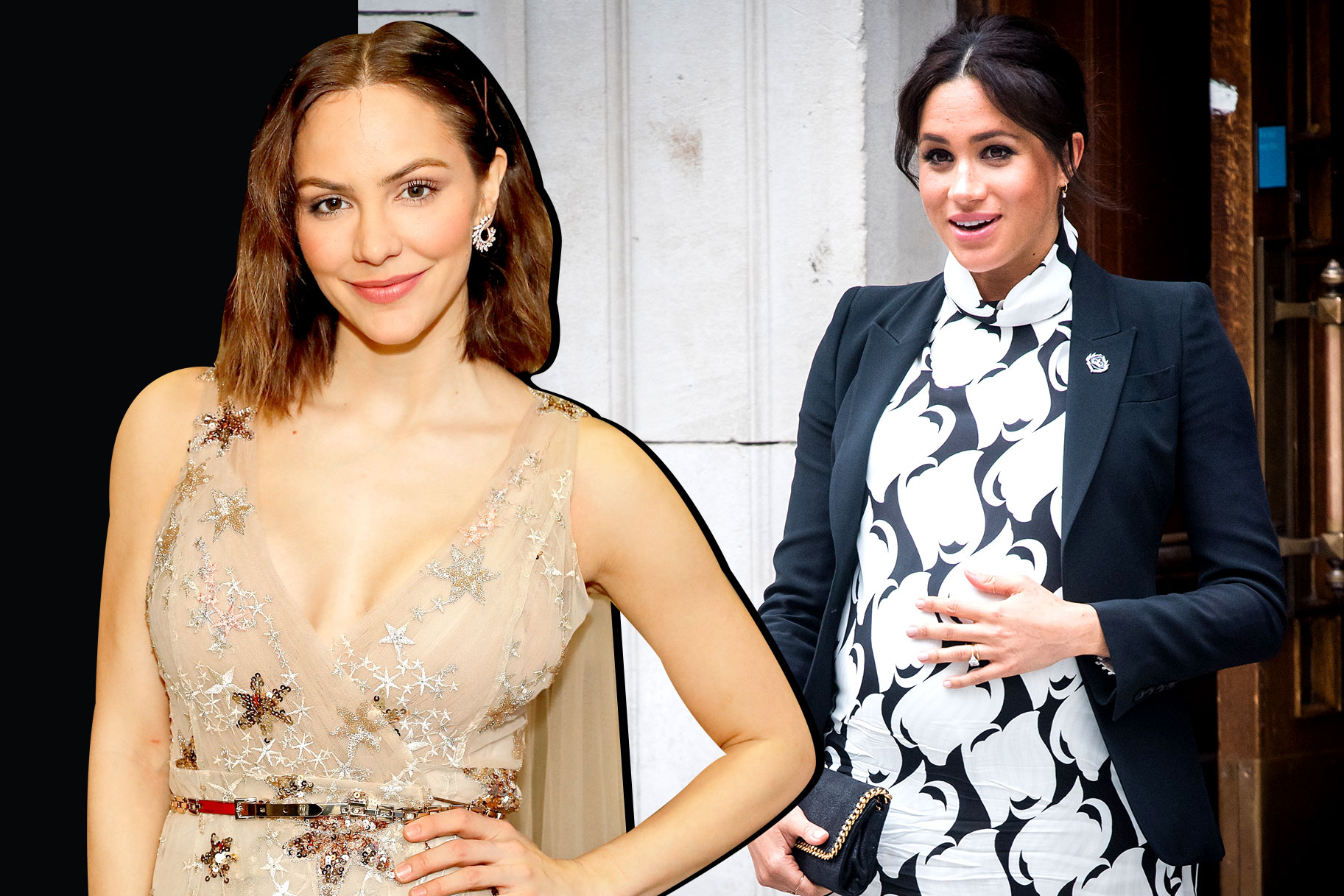 Are Katharine Mcphee And Meghan Markle Friends London Reunion The Daily Dish