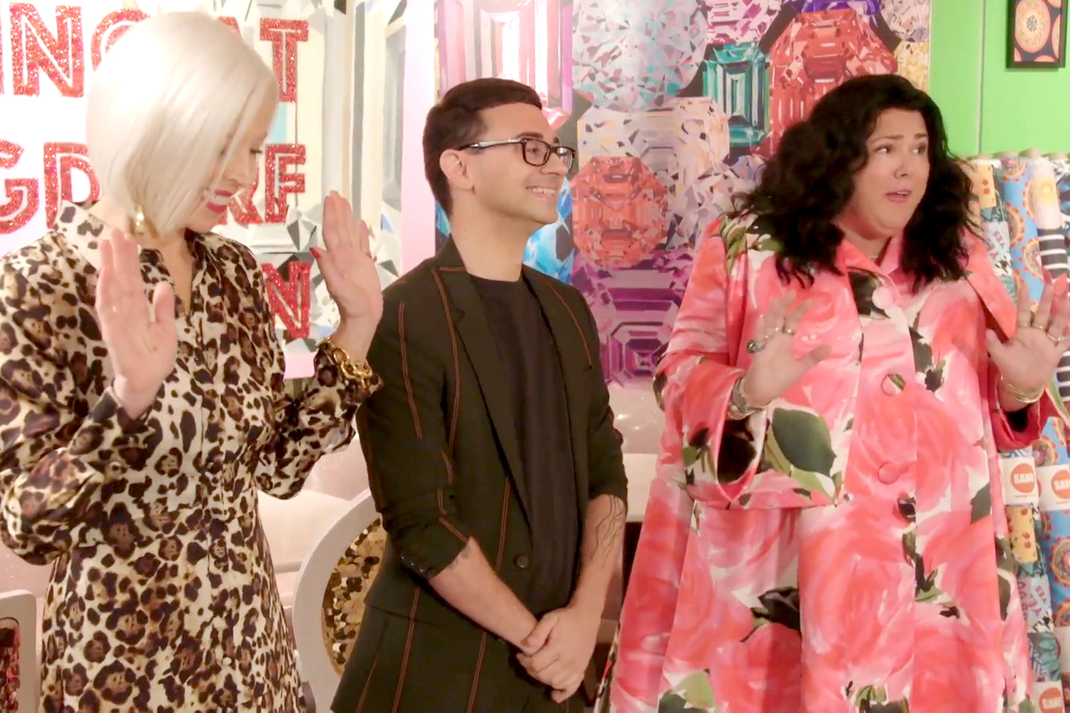 Project Runway Guest Judge Ashley Longshore S Experience The Daily Dish