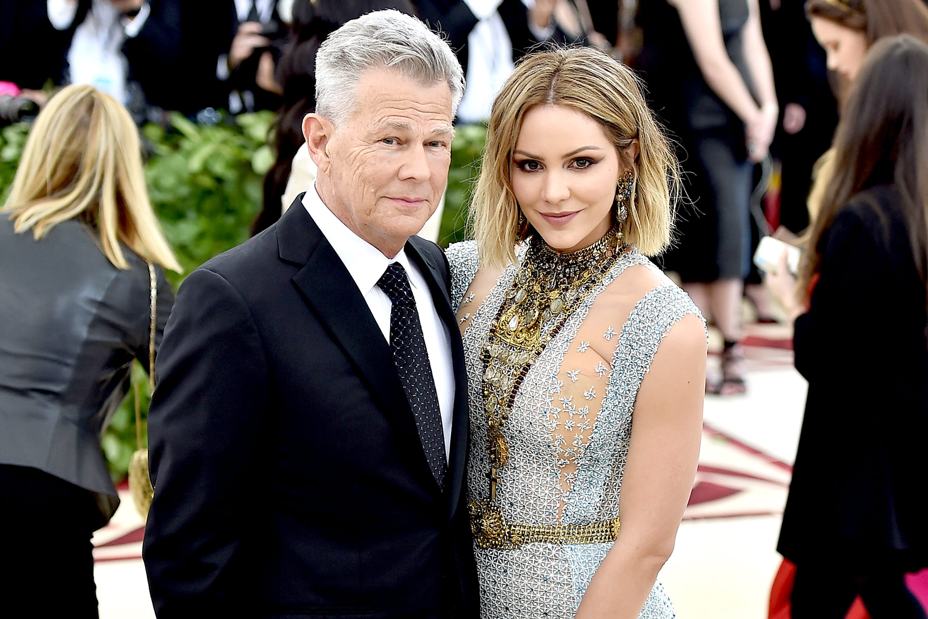 Katharine Mcphee Explains Marrying David Foster The Daily Dish